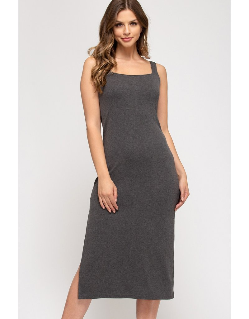 The Wow Them Midi Dress
