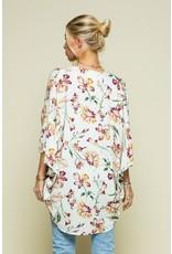 The Marly Floral Print Kimono