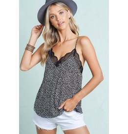 The Wild Thing Leopard Lace Cami