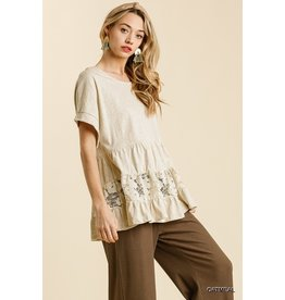 The Kemper Lace Babydoll Top