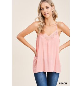The Sangria Lace Cami