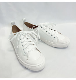 The Korey Lace Up Sneakers - White