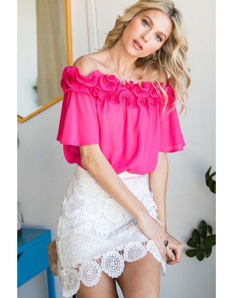 The Aria Off The Shoulder Top