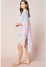 The Bright + Breezy Watercolor Kimono