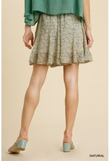 The Simply Thriving Floral Print Skirt