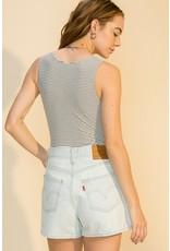 The Tara V-Neck Bodysuit