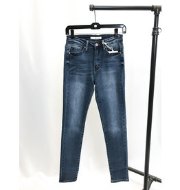 The High Rise Medium Wash Skinny