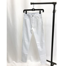 The White High Rise Skinny