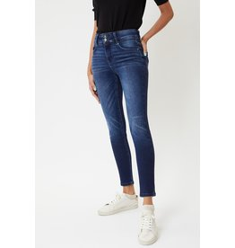 The High Rise Double Button Skinny