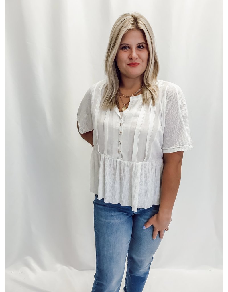 The Dove Babydoll Top
