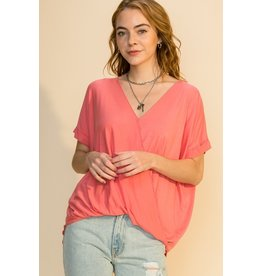 The Shannon Wrap Top