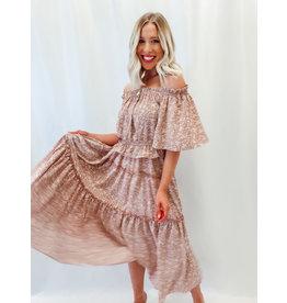 The Sea Breeze Floral Maxi Skirt