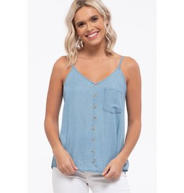 The Raleigh Chambray Cami