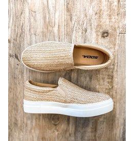 The Surf Club Straw Slip On Sneaker