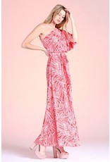 The Isadora One Shoulder Printed Maxi Dress