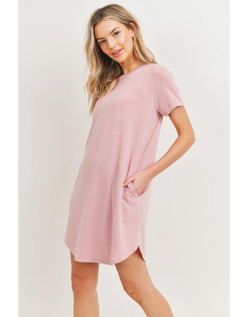 The Dawson Pocketed T-Shirt Dress