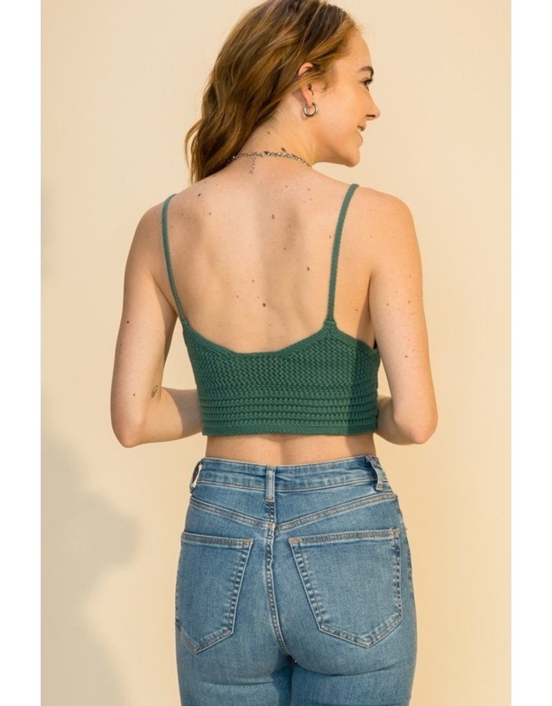 The Daily Dose Of Sun Crochet Crop Top