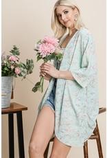 The Tyra Printed Kimono