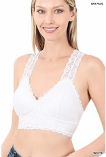 The Kinslee Padded Lace Bralette