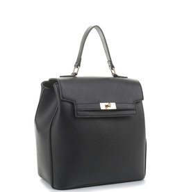The Peter Faux Leather Backpack