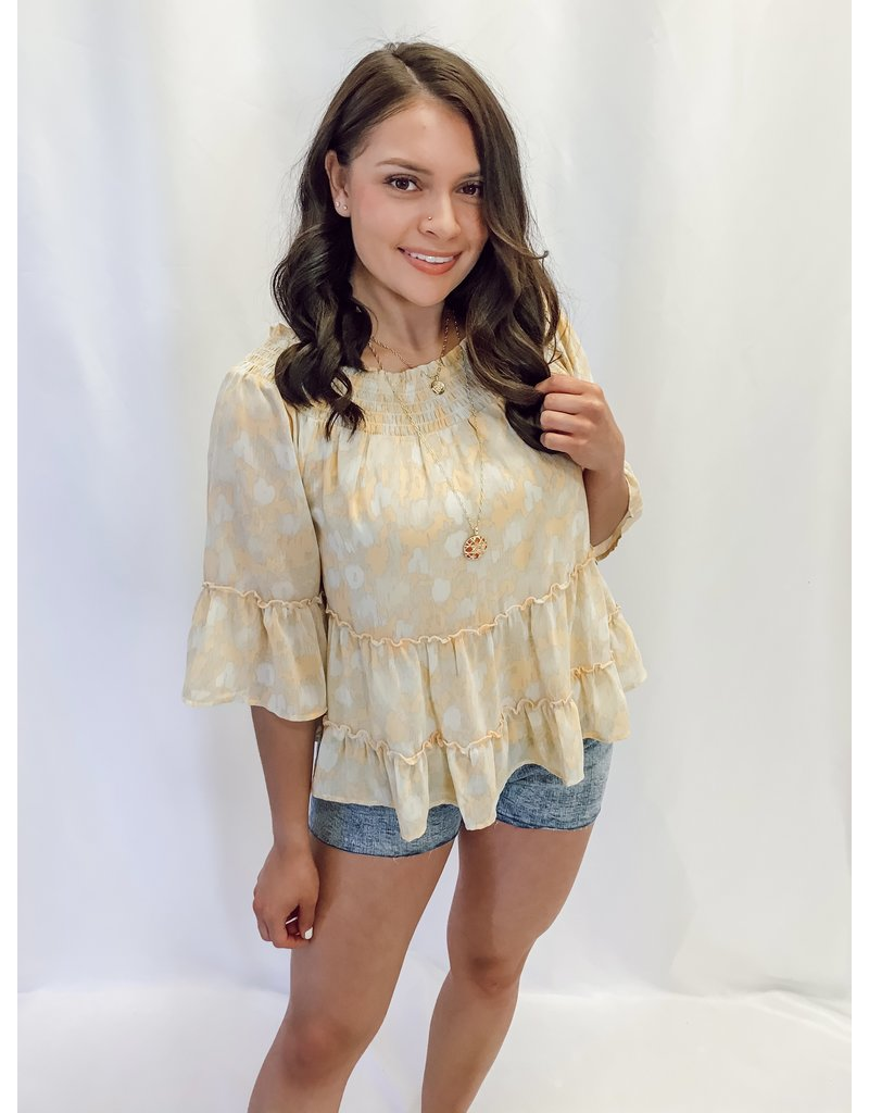 The Kendall Off The Shoulder Printed Top
