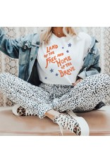 The Land Of The Free Graphic Tee