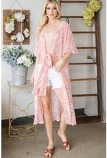 The Chantelle Geometric Print Kimono