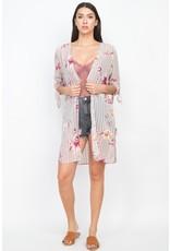 The Admire Floral Print Kimono