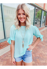 The Lily Bow Sleeve Top