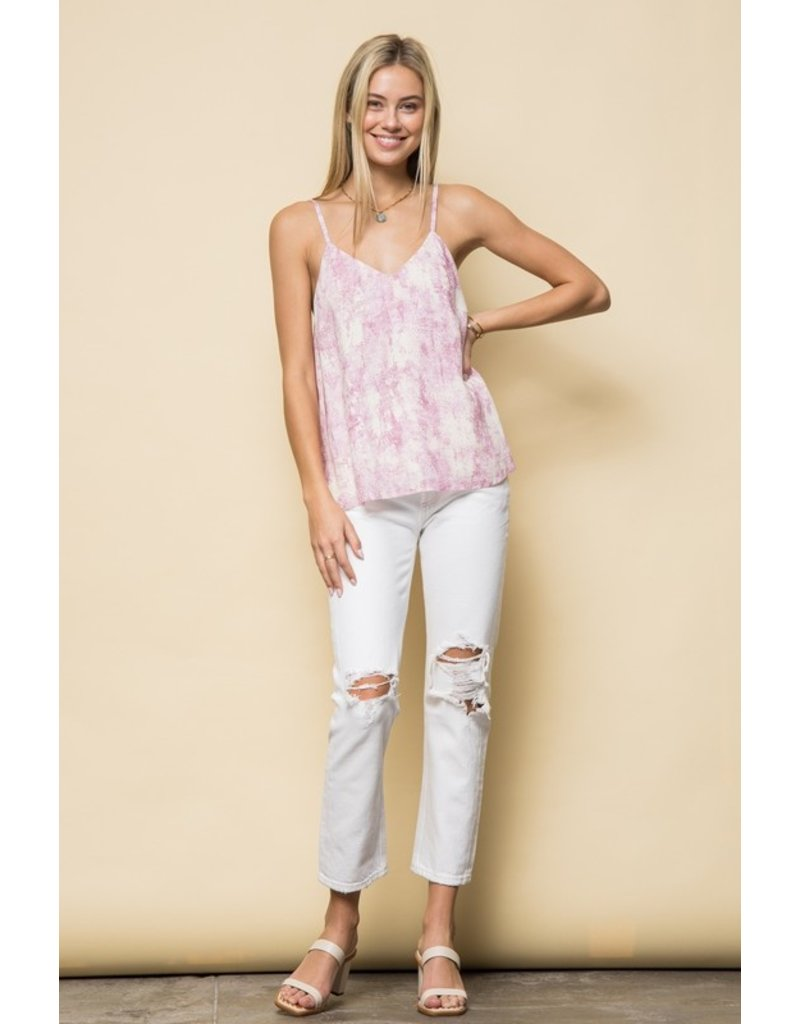 The Tilly Printed V-Neck Top