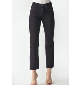 The Laura Straight Leg Jeans - Black