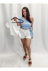 The Willa One Shoulder Crop Top