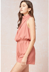 The Spice It Up High Neck Romper