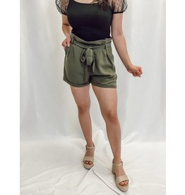 The Steady Paper Bag Waist Shorts