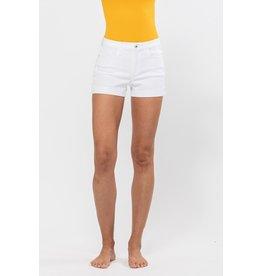 The Punta Cana Denim Shorts - White