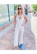 The Montego Bay Striped Jumpsuit