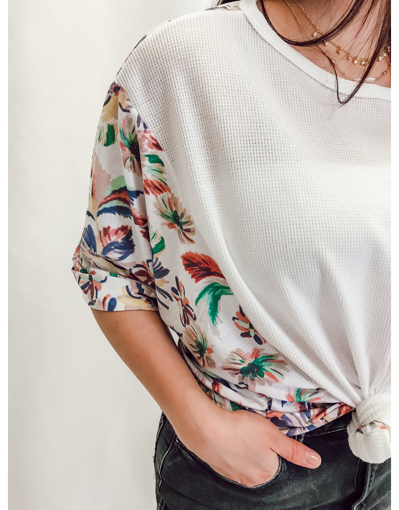 The June Floral Print Top