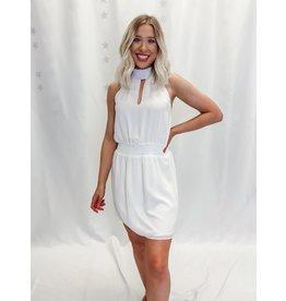 The Normani Smocked Halter Dress