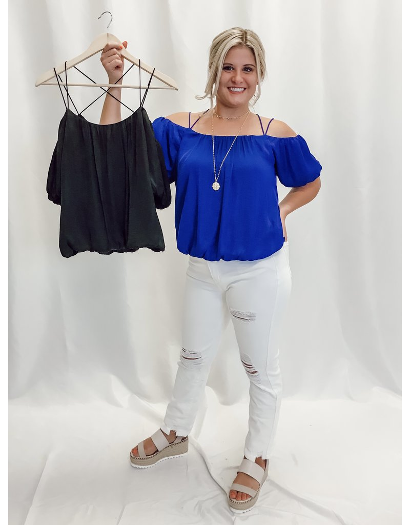 The Billy Bubble Sleeve Blouse