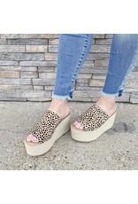 The Kelley Spotted Platform Sandal