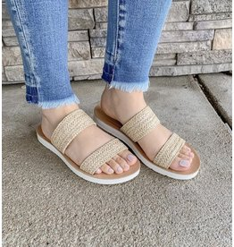 The Fitch Straw Sandal