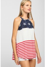 The Babes In America Halter Top