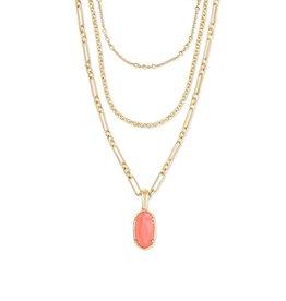 The Elisa Triple Strand Necklace