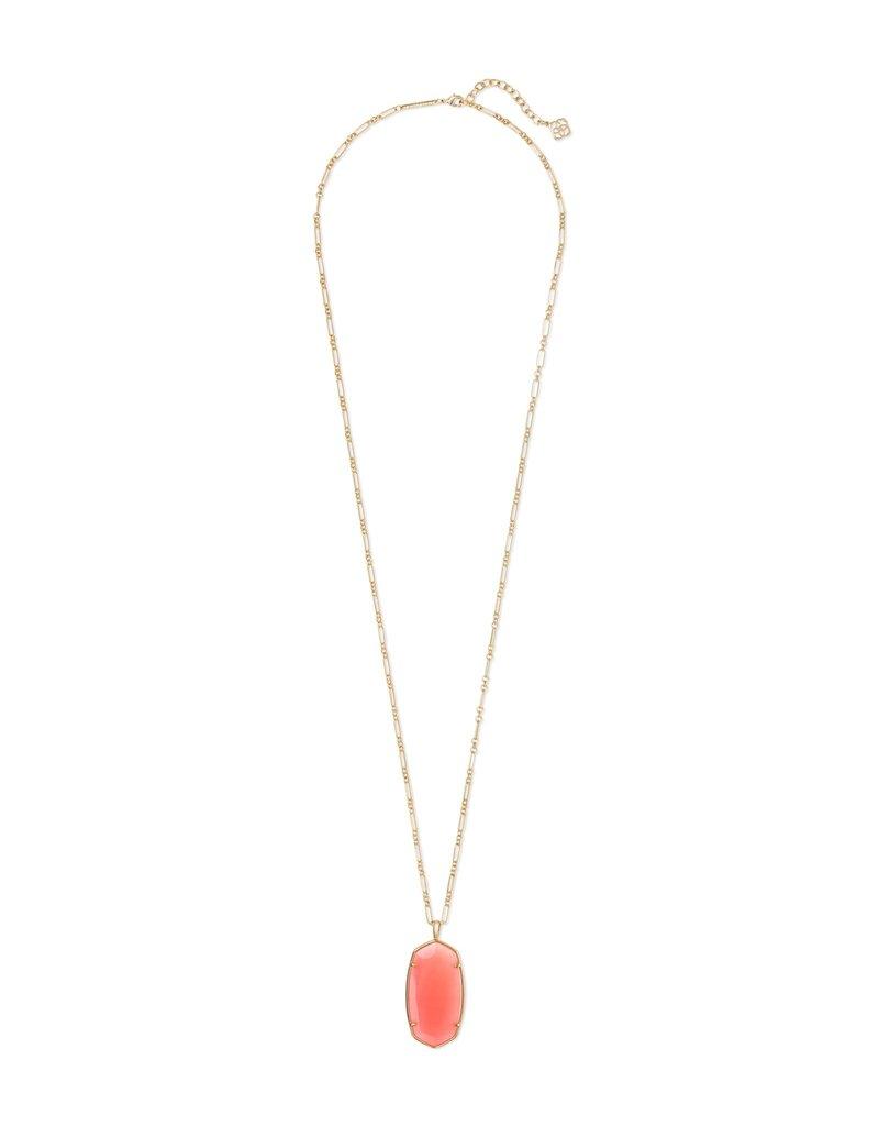 Kendra Scott Faceted Reid Long Pendant Necklace