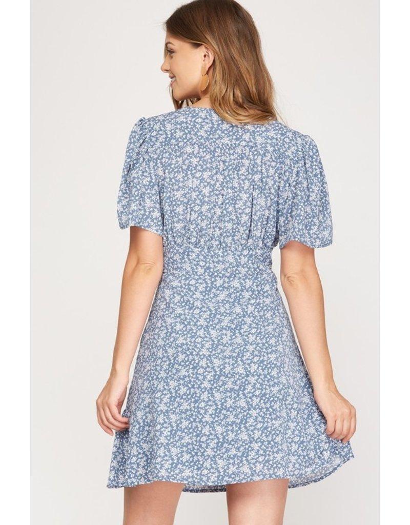 The Davis Floral Print Dress