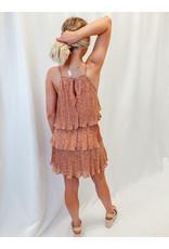 The Genuine Fun Pleated Printed Dress