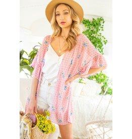 The Rae Floral Print Kimono