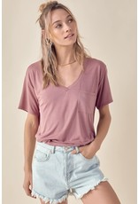 The For Eternity Relaxed V-Neck Tee
