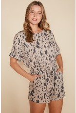 The Zain Printed Pocketed Romper