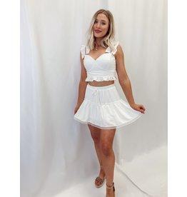 The Kasper Tiered Skirt